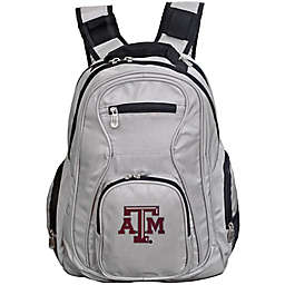 Texas A&M University Laptop Backpack in Grey