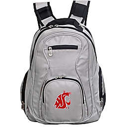 Washington State University Laptop Backpack in Grey