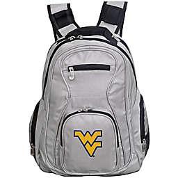 West Virginia University Laptop Backpack in Grey