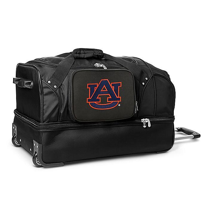 Alternate image 1 for Auburn University 27-Inch Drop Bottom Wheeled Duffel Bag