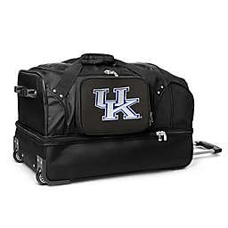University of Kentucky 27-Inch Drop Bottom Rolling Duffle Bag