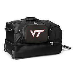 Virginia Tech 27-Inch Drop Bottom Rolling Duffle Bag