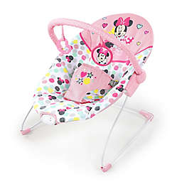 Bright Starts™ Minnie Mouse Spotty Dotty Vibrating Bouncer in Pink