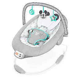 Bright Starts™ Mickey Mouse Cloudscapes Cradling Bouncer in Grey