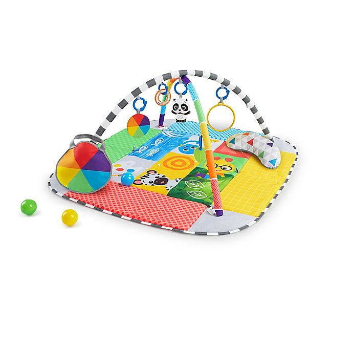 Alternate image 1 for Baby Einstein™ Patch's 5-in-1 Playspace™ Activity Gym & Ball Pit