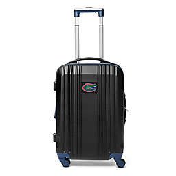 University of Florida 21-Inch Carry On Expandable Spinner Luggage in Black