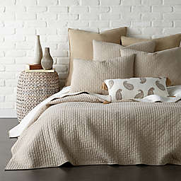 Levtex Home Torrey 2-Piece Reversible Twin Quilt Set in Taupe