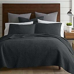 Levtex Home Torrey 2-Piece Reversible Twin Quilt Set in Charcoal