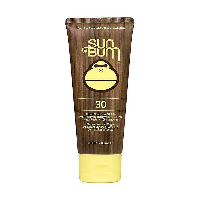 Alternate image 1 for Sun Bum® 3 fl.oz. Moisturizing Sunscreen Lotion with SPF 30+