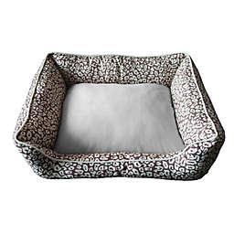 Style Quarters Leto Small Dog Bed in Tan/Cream