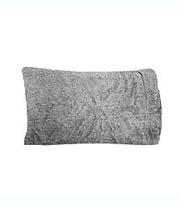 Funda para almohada UGG® estándar/queen color gris carbón