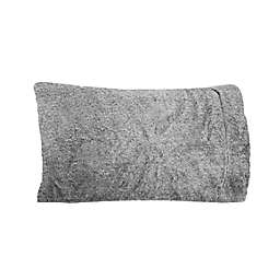 UGG® Polar Faux Fur Standard/Queen Pillowcase in Charcoal