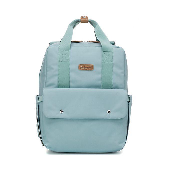 Alternate image 1 for BabyMel™ Georgi Eco Convertible Backpack Diaper Bag in Aqua