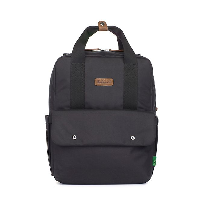 Alternate image 1 for BabyMel™ Georgi Eco Convertible Backpack Diaper Bag in Black