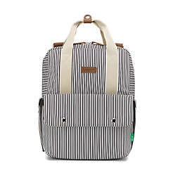 BabyMel™ Georgi Eco Convertible Backpack Diaper Bag in Navy