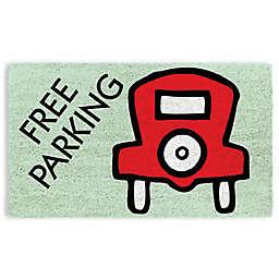 """Monopoly Free Parking 17"""" x 29"""" Coir Door Mat"""