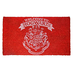"Harry Potter™ Welcome to Hogwarts 17"" x 29"" Coir Door Mat"