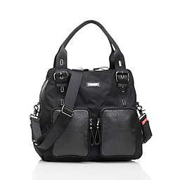 Storksak® Alexa Luxe Diaper Bag in Black