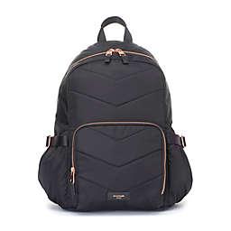 Storksak® Hero Quilt Diaper Bag in Black