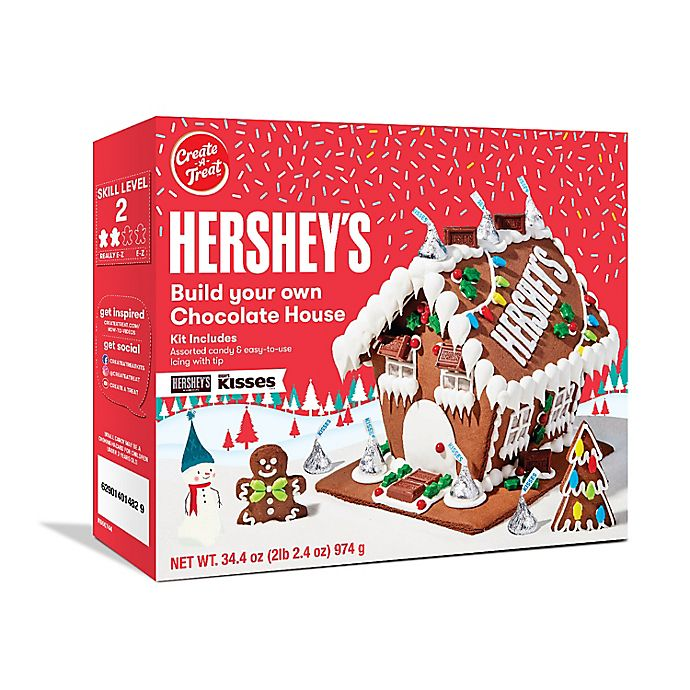 Alternate image 1 for Hershey's Large Chocolate House Kit