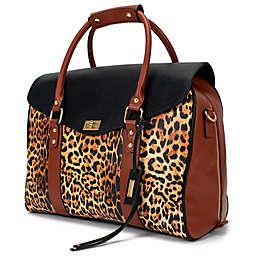 Badgley Mischka® Leopard Travel Tote Weekender Bag