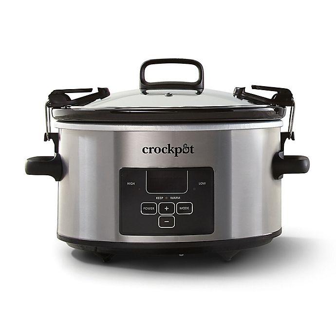 Alternate image 1 for Crock-Pot® 4 qt. Cook & Carry Slow Cooker
