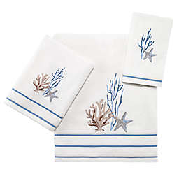 Avanti Abstract Coastal Bath Towel Collection