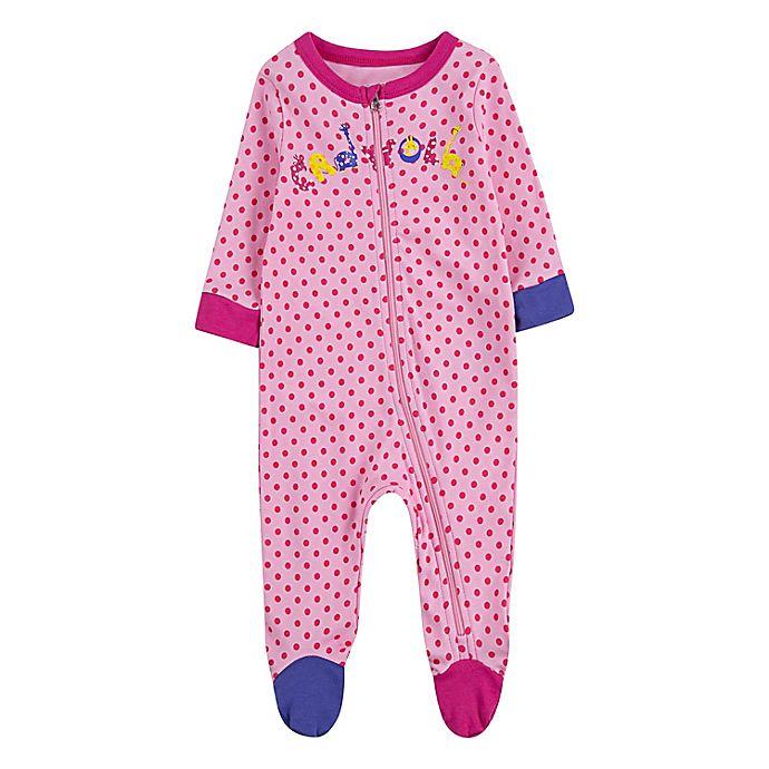 Alternate image 1 for Crayola® Giraffe Footie in Pink