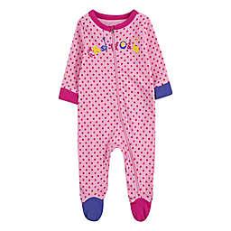 Crayola® Size 6M Giraffe Footie in Pink