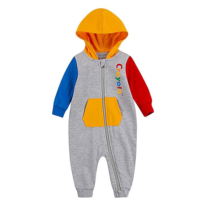 Alternate image 1 for Crayola® Logo Hooded Coverall