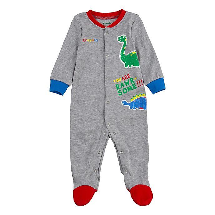 Alternate image 1 for Crayola® Dino Footie in Grey