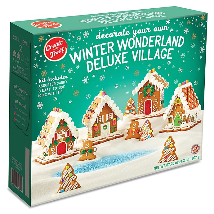 Alternate image 1 for Winter Wonderland Deluxe Village Gingerbread Kit