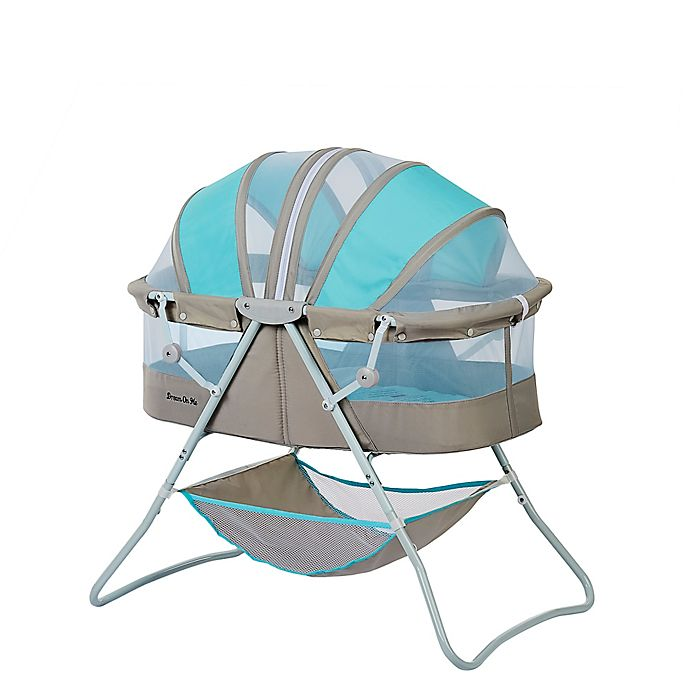 Alternate image 1 for Dream On Me Karley  Bassinet in  Blue Beige