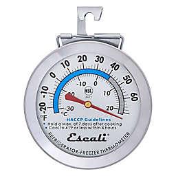 Escali® Refrigerator/Freezer Thermometer in Silver