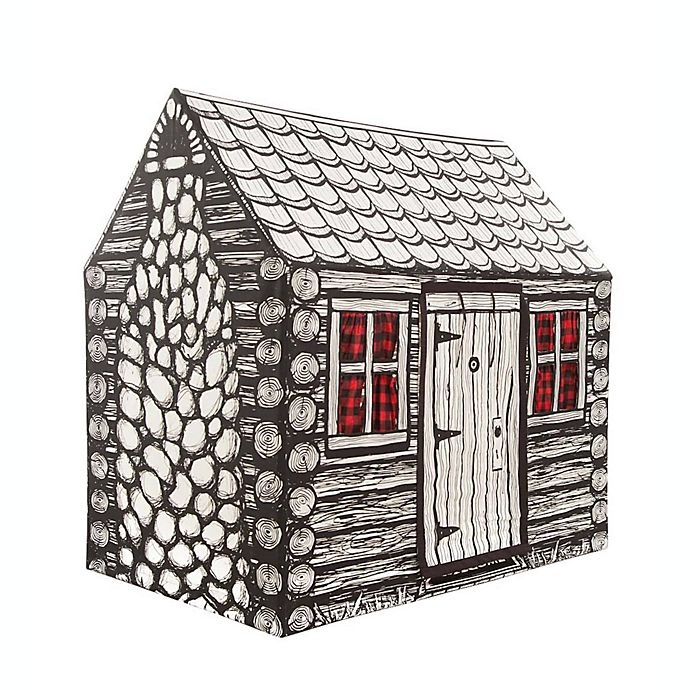 Alternate image 1 for Role Play™ Log Cabin Play Tent