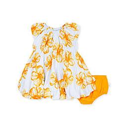 Burt's Bees Baby® Newborn 2-Piece Floating Hibiscus Dress and Diaper Cover Set