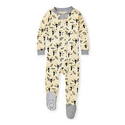 Burt's Bees Baby® Toucan Jungle Footed Pajama in Heather Grey