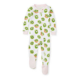 Burt's Bees Baby® Kiwi Organic Cotton Footie Pajama in Pink