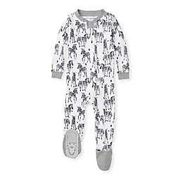 Burt's Bees Baby® Organic Cotton Zebra Herd Sleeper in White/Grey