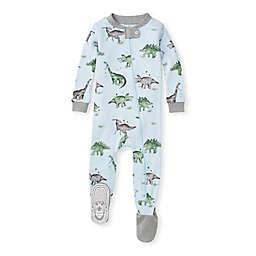 Burt's Bees Baby® Organic Cotton Happy Herbivores Sleeper in Light Blue