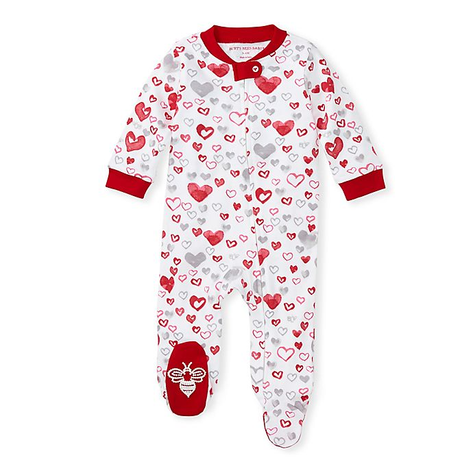 Alternate image 1 for Burt's Bees Baby® Love You Bunches Organic Cotton Pajama