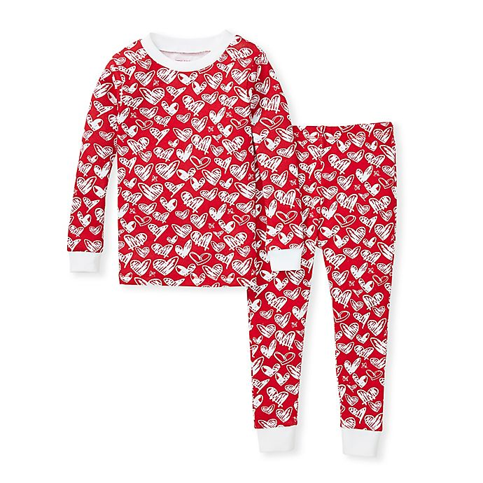 Alternate image 1 for Burt's Bees Baby® Heartbeat Organic Cotton Sleep and Play in Red
