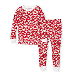 Burt's Bees Baby® Size 24M Heartbeat Organic Cotton Sleep and Play in Red