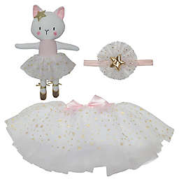 So' Dorable Size 0-12M Fancy Tutu and Dolly 3-Piece Set