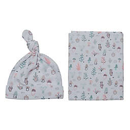 So 'Dorable® 2-Piece Hat and Swaddle Set in Forest