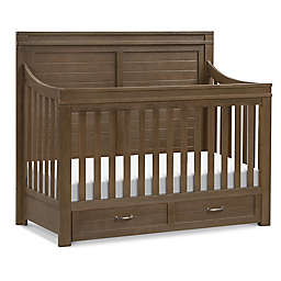 Million Dollar Baby Wesley Farmhouse 4 in 1 Convertible Crib in Stablewood