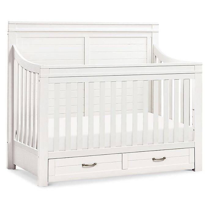 Alternate image 1 for Million Dollar Baby Classic Wesley Farmhouse 4-in-1 Convertible Crib