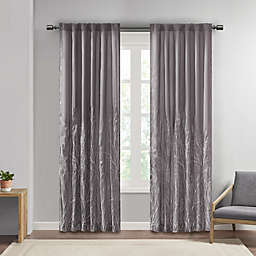 Andora 84-Inch Window Curtain Panel in Grey