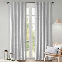 Urban Habitat 95-Inch Rod Pocket/Back Tab Brooklyn Window Curtain Panel in Grey (Single)