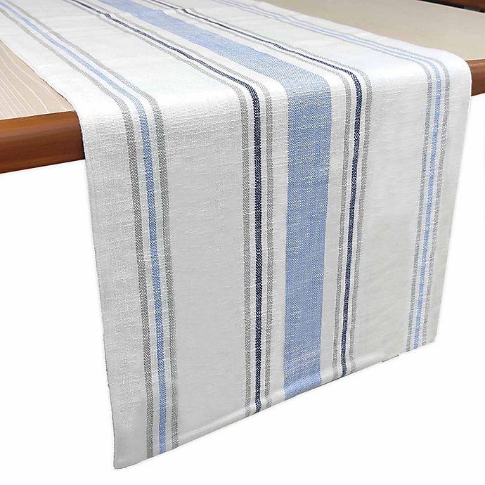 Alternate image 1 for Bee & Willow™ Multi Stripe Reversible Table Runner
